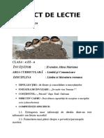 Proiect didactic - Puisorii, Emil Garleanu