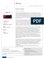 Excel 2010 - Editions ENI