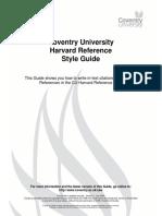 E3 Harvard Guide