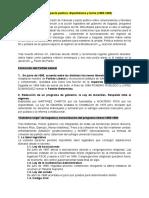 Tema 8. La Regencia. El Pacto político. Bipartidismo