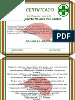 CERTIFICADO CIPA5