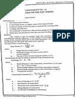pelton wheel load test