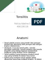 Tonsilitis Ppt