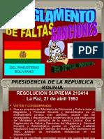 REGLAMENTO FALTAS Y ....ppt