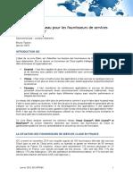 Quels Besoins Réseau Pour Les Fournisseurs de Services Cloud en France