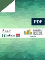 Sumario Executivo - Ranking de Competitividade dos Estados - 2016