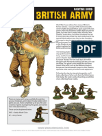 Bolt Action Blitzkrieg Painting Guide