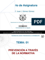 01. Prevencion a Traves de La Normativa
