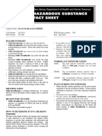 Hazardous Substance Fact Sheet (SF6)