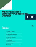 Ma__ster en Disen__o Editorial y Publicaciones Digitales