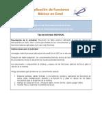Actividad 1 Funciones Basicas de Excel