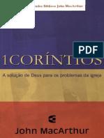 Comentário 1 Coríntios - John Macarthur