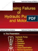Diagnosing Failures of Hydraulic Pumps and Motors