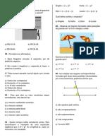Simulado Bolsas - 8º ANO