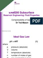 ENM200 RE Compressibility of Gases 2011 Slides