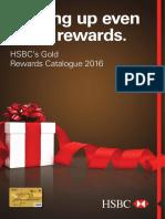 HSBC Gold Catalog