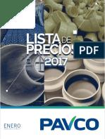 Lista Sugerida de Precios Pavco Enero 2017.pdf