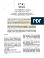D Periodic Collagen - Mimetic Microfibers