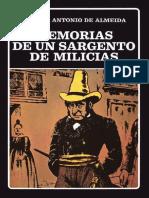 ALMEIDA Manuel Antonio - Memoria de un sargento de milicias.pdf