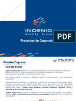 Presentacion Corporativa Ingenio Quality Group