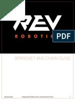 Sprocket Guide123456789