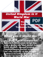 United Kingdom in II World War