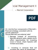 Finance_Team E - Case _Marriot_up
