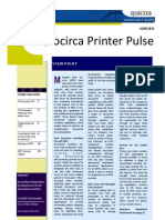 Quocirca Printer Pulse June 2010