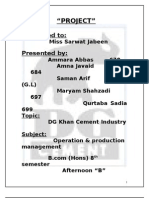 D.G khan cement company