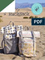 Rucksack Backpack Instructions Pattern
