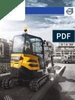 Brochure Minipelle Volvo ECR25D | SOFEMAT