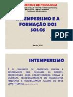 Pedologia_intemperismo Na Formação Dos Solos_aula3