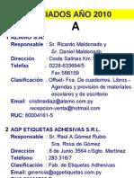Asociados Graficos 2010