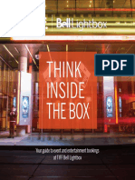2015 TIFF Bell Lightbox Events and Entertainment Guide