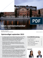 Ipsos Opinionsmonitor Sept 2013