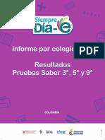 Informe Por Colegio Genérico 2016