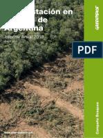 Deforestacion Norte Argentina Anual 2016
