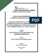 Propuesta de Una Mejora n El Proceso de Formación Marquina Vega, Edward Vicente
