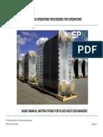 Presentation PHE - Basic SOP & Maintenance