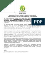 Reglamento Tecnico Para El Etiquetado de Eficiencia Energética de Aparatos de Refrigeración y Congelación.