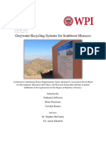 WPI Greywater Recycling Systems IQP-Supplemental Document