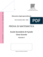 Invalsi Matematica 2013-2014 Secondaria Seconda