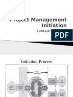 Project Management Initiation & Scope Mnagement
