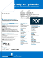 3rd Annual Retail Deposit Design and Optimisation