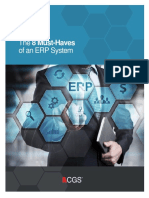 8 Must Haves of an ERP System