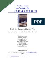 Horsemanship Course 1