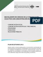 Plan Estudios 2012 Resumen