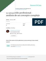 El Desarrollo Profesional - Análisis Complejo