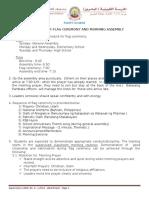 Flag Ceremony Guidelines