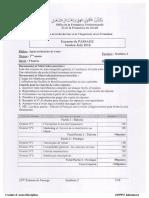 Examen de Passage 2016 ATV Synthèse 2